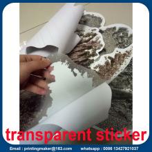 Custom Die Cut Waterproof Vinyl Floor Sticker