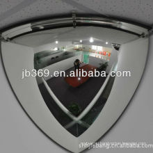 quater plastic dome mirror,90cm 90 degree viewing angle