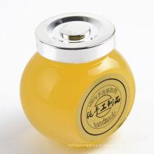 50ml 180ml 380ml 500ml Biscuits en verre pour le miel, les bonbons, les aliments