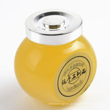 50ml 180ml 380ml 500ml Frascos de vidro para mel, doces, alimentos