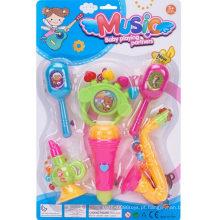 Conjunto de brinquedos de música de combinação 6pcs