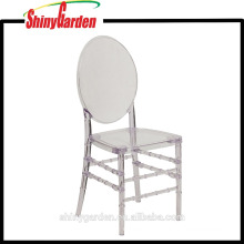 High Quality Clear Plastic Garden Chair, Florence Chair (KD)