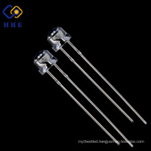 High quality high brightness for 4.8mm red straw hat led diode
