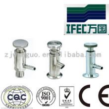 Sanitäres Edelstahl-Probenventil (IFEC-SV100012)