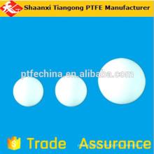 Boule ptfe lisse, boule plastique en plastique blanc 12mm, boule plastique en plastique blanc 6mm