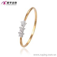 51368 brazalete de aleación de oro con estrella de cobre ambiental multicolor de Xuping