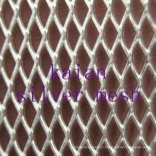 Silver Diamond Mesh pour électro avec la meilleure conductivité électrique / conductivité thermique ---- usine de 30 ans