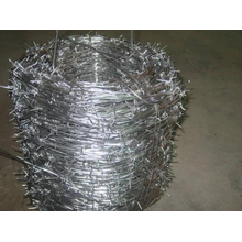 Hot Dipped Galvanized Double Barbed Wire Fence