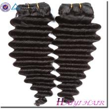 Alta calidad 100 cabello humano extensión Fábrica al por mayor 9A Virgen cabello indio