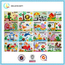 EVA foam puzzle art sticker toys for kids