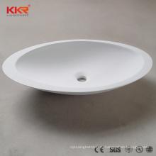 Мэтт искусственная каменная раковина ванной комнаты каменная твердая лицу чаши