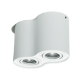 Downlight LED rond blanc dimmable 2 * 7W