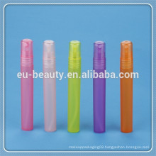 new style colorful 10ml plastic perfume atomizer