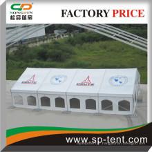 Carré multicouche 12x20m avec impression numérique sur panneaux de toit entiers