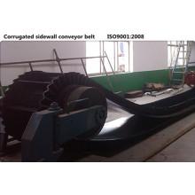 XE-Sc-800 / 4 + 1 flanco acanalado banda transportadora de goma
