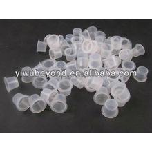 Professional Tattoo Pigment Ink Cups Caps Fournitures en plastique