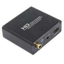 Conversor HDMI para DVI + Coaxial + Audio