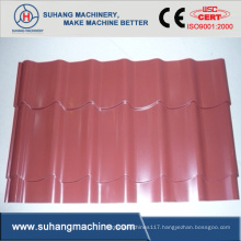 China Manufacture Glazed Tile Roll Former Machine