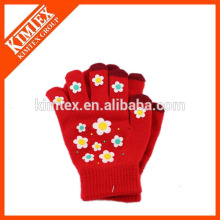 Touch screen gloves one size for iphone