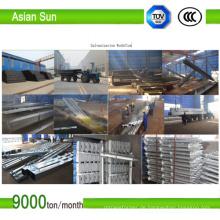 TÜV Zertifikat feuerverzinkt Solar Boden Schraube Hersteller