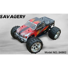 Gas Powered RC Car 94862 Hsp1: 8 Gas Powered RC Cars Sh18 Engine Speed up to 60-70km/H