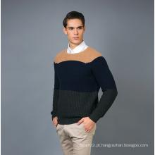 Men's Fashion Cashmere Blend Sweater 17brpv078