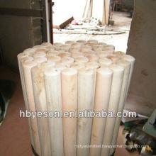 natural wood broom handle