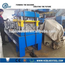 Metal Roof Round Ridge Cap Roll Forming Machine / Angle Ridge Cap Rollforming Making Machine Price