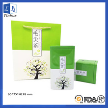 Metal Tea Tin Box Packaging