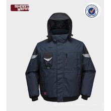 jaqueta piloto bombardeiro inverno mens jaqueta bomber jacket