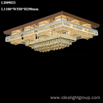 hotel crystal chandelier remote control led chandelier