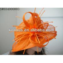 Сделанная в Китае шляпа ручной работы sinamay