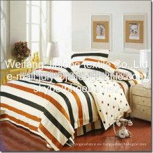 shandong weifang china 100% algodón impreso tela para sábana