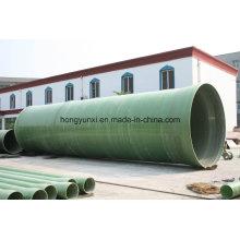 Tubo de areia FRP ou GRP com junta de topo ou espiga e junta de sino