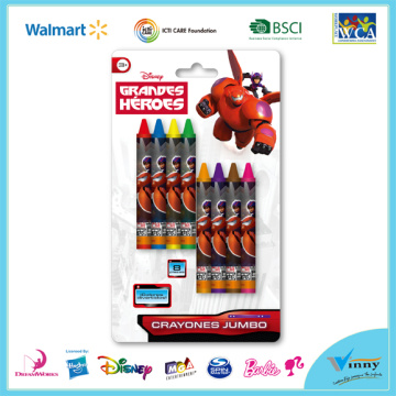 Peppa Pig 8 Piece Crayon Set