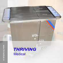 Stainless Steel Electric Heated Type Food Cart (THR-FC011)