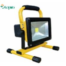 Nuevo 12V 24V10W recargable y portátil LED de iluminación al aire libre de camping reflector solar