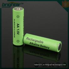 Poder alcalino aa tamanho bateria recarregável alcalina