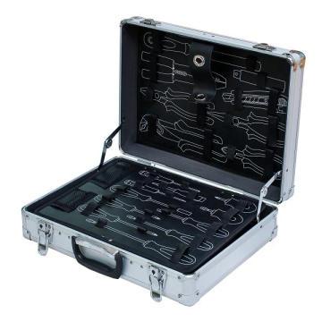 Hochwertiger Aluminium-Werkzeugkoffer mit Werkzeugtasche (KeLi-D-16)