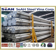 """1""""""""-8"""""""" Galvanised steel pipe to JIS 3466, JIS 3444 and various standards exported to Thailand market"""