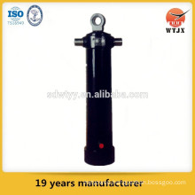 side dumping hydraulic telescopic cylinder for truck / hydraulic systems for trucks
