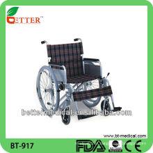 Cadeira de rodas durável de alumínio
