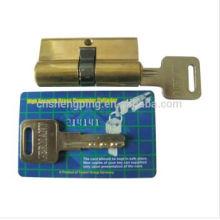 60mm Brass Cylinder Locks W/UV Card