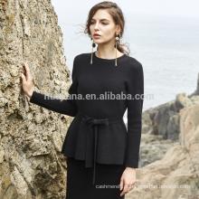 2017 vestido de camisola de cashmere de inverno feminino