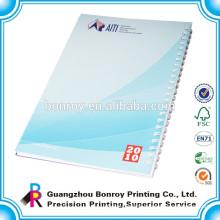 Cheap Custom Bulk spiral notebook a4