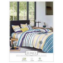 100% cotton with reactive printed bedding set