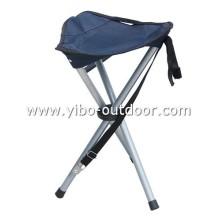 exterior metal camping dobrável cadeira para pesca