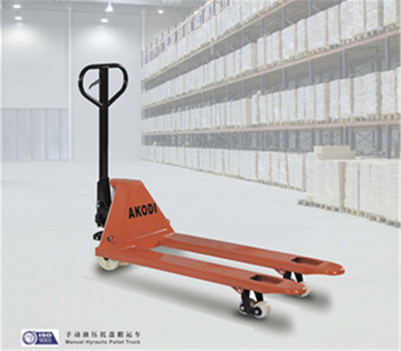 Hydraulic manual handling forklift