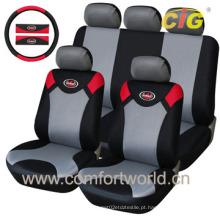 Tampa de assento de carro com tecido PU