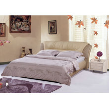 Moderne Leder-Bett, Hotelbett (9005)